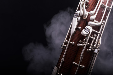 Another part of a bassoon Fotobehang