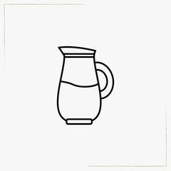 jug line icon