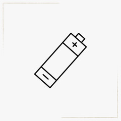 battery line icon