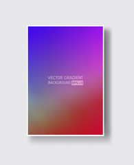 Creative design poster with vibrant gradients.