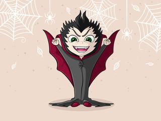 Kleiner Comic Vampir
