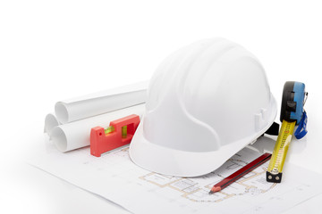 Planning of construction of the house.