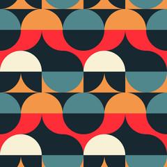 Modèle sans couture d& 39 illusion de cercles. Pour l& 39 impression, le design de mode, le papier peint d& 39 emballage