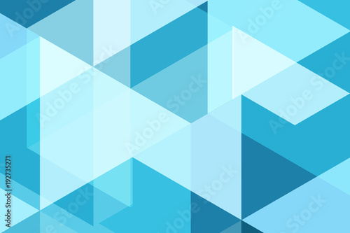 Blue geometric abstract vector background design for