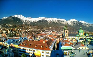 Innsbruck tower view