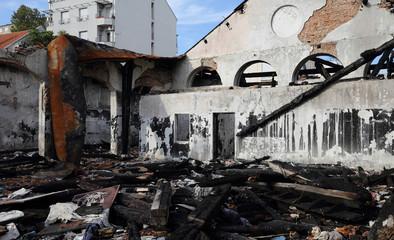 Burned Sweatshop Damage