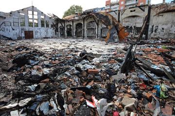 Garment Factory Damage