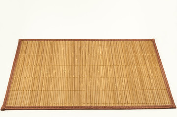 Bamboo natural dish mat for serving dishes