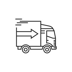 shipping icon, quick delivery icon
