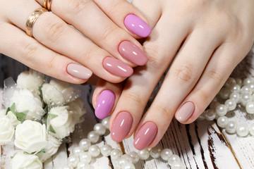 Poster de jardin Manicure Fashion nails design manicure