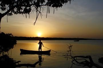 Sunset in Kenya - Mida Creek in Watamu