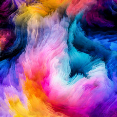 Colorful Paint Metaphor