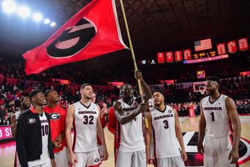 NCAA Basketball: Tennessee at Georgia