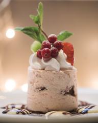 sweet cake - close up photo