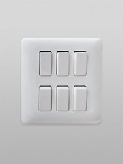 light switch isolated six