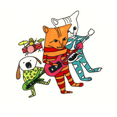 A Rock Band Called The Cat's Pajamas