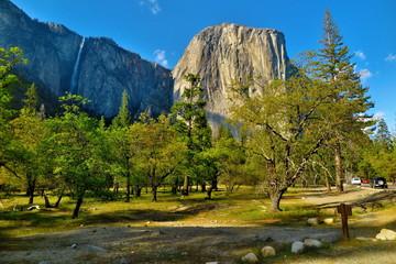 Yosemite Falls at yosemite national park