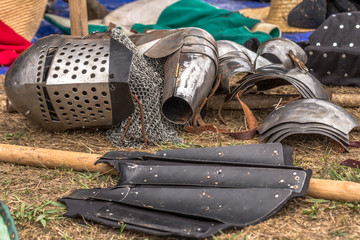 Medieval Armor and weaponry