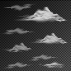 Different patterns of clouds