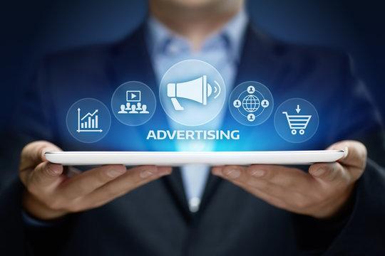 Advertising Marketing Plan Branding Business Technology concept