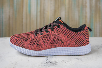 Sneakers for fitness on a light background