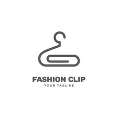 Fashion clip logo