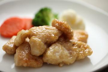 鶏肉の甘酢和え