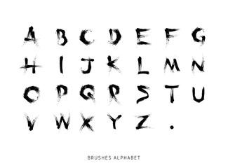Alfabeto Spennellato