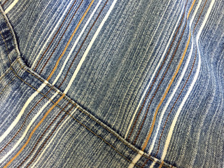faded jeans fabric