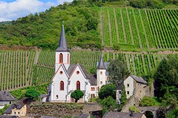 Evangelische Pfarrkiche von Traben-Trarbach an der Mosel, Rheinland-Pfalz
