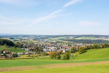 Rural landscape of Ehrendingen (Switzerland)