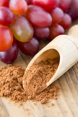 Traubenkernmehl -  Grape seed powder