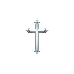 Cross 02 Silver - 12CrSl11Wbg