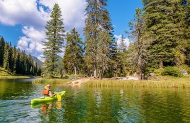 Lake Misurina Kayaking