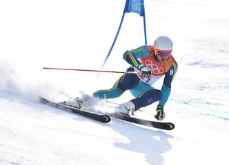 Olympics: Alpine Skiing-Mens Giant Slalom