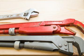 A set of repairing tools