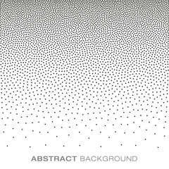 Abstract Gradient Halftone Dots Background