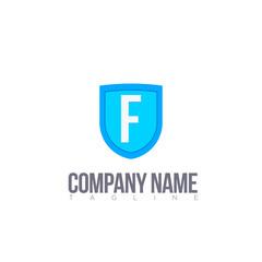 F letter logo template modern