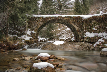 The canyon of the waterfalls, Bulgaria