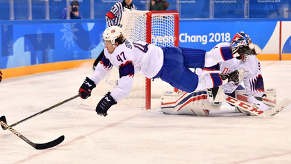 Olympics: Ice Hockey-Men Team Group C - GER-NOR