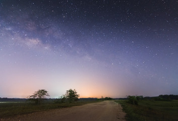 The road that leads to the Milky Way.