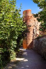 Pulverturm an der Stadtmauer