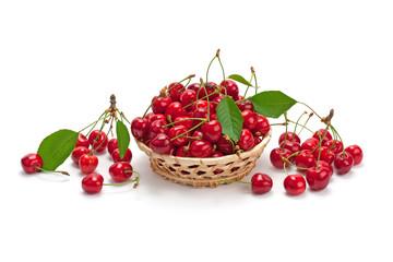 sweet ripe cherries