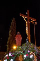Paso e imagenes de la crucifixion