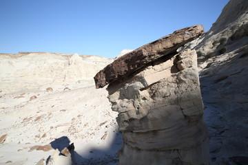 White Hoodoos, Chimney Rock, Chimney Rock Canyon,Rimrocks,White Valley, Grand Staircase Escalante National Monument, GSENM, Utah, USA