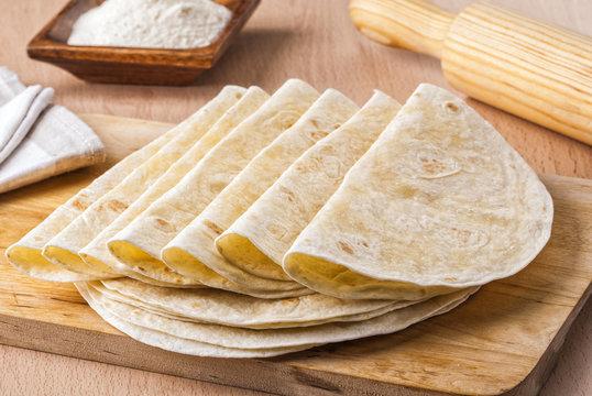 Mexican tortillas.