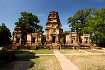 Prasat Kravan Temple, Temples of Angkor, Cambodia