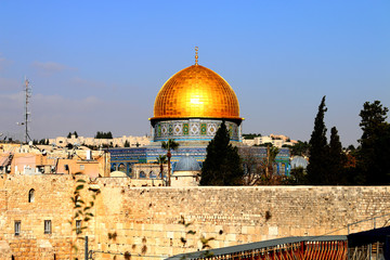 Jerusalem is an old city, a lobster dome, an Islam