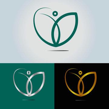 coach logo design. life coaching .