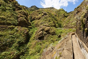 Teneriffa - von Punta del Hidalgo nach Batan de Abajo
